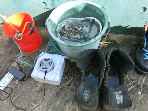安全靴の消臭・除菌にも活用されるオゾン水