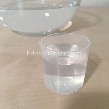 オゾン水のオゾン濃度実験5